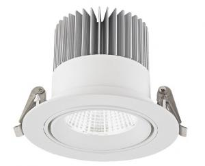 China 25W Adjustable Recessed Downlight LED With Clip Installation 120mm CREE COB on sale