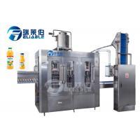 220V / 380V Orange Juice Filling Machine Tea Beverage Filling Line With TUV