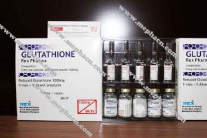 China Hot sale 1200mg Glutathione injection for skin whitening with high qulity and low price wholesale