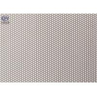 Round Micro Hole Perforated Metal Sheet , Metal Mesh Panels For Filter Screen