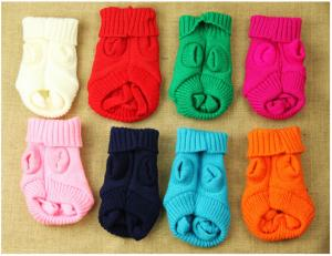 China Dongkuan thick sweater wholesale pet dog baby sweater on sale