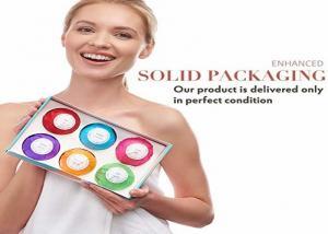 China Girlfriend 6x5oz Organic Bath Fizz Balls With Vanilla , Rose , Candy Scent on sale