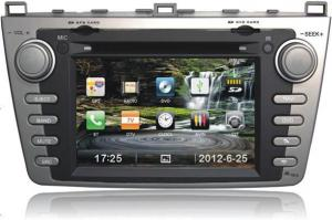 China Touch Screen USB Automobile DVD Players Portable for MAZDA6 on sale