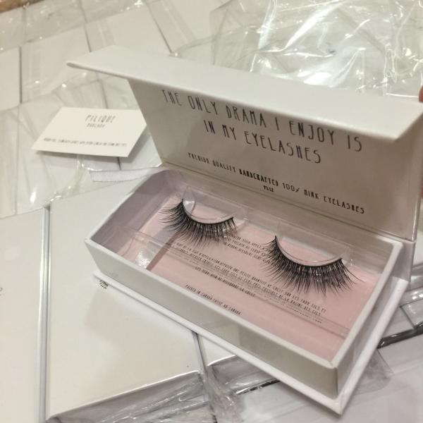 7afadedd154 Cheap eyelash synthetic silk PBT/PET material tip mellow lashes gift flat  box Images