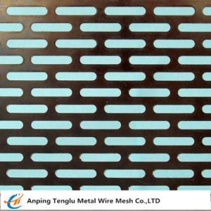 China Slot Holes Perforated sheet on sale