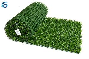 China Artificial Hedge New Design Fake vertical Grass Plant Panel for wall decoration on sale