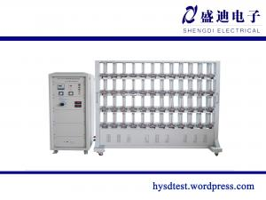 China Aging and Counting Single Phase Energy Meter Test Equipment on sale