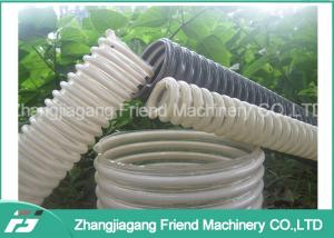 China Vent System Heat Resistant Plastic Pipe Machine For Producing Pvc Spiral Hoses on sale