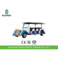 Battery Operated Vintage Electric Car , 8 Seater Electric Passenger Vehicle With Sunshade