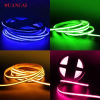 China factory supply rgb red cob led strip for Architectural decorative lighting / corridor lighting /signage lighting on sale