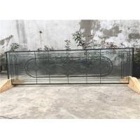 China 22 * 48 los paneles del vidrio modelado de la pátina del negro, hojas de cristal decorativas de 19 - 30 milímetros on sale
