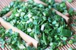 freeze drying Spring Onion Dices