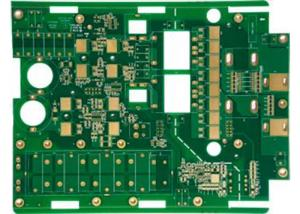 China Red Solder Mask Heavy Copper PCB High Current Custom PCB Manufacturer on sale
