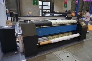 Digital Polyester Epson Print Head Fabric Printing Machine For Flag