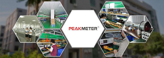 Auto / Manual Range Multimeter Clamp Meter With Analogue Bar Graph Display