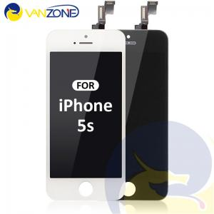 China Anti - Fingerprints IPhone 5s  Iphone LCD Screen With Tempered Glass Cover on sale