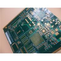 China Via In Pad PCB Built On FR-4 With Impedance Controlled At 49 OHM, 91 OHM on sale