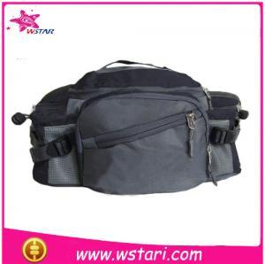 China Leather Passport Belt BagBeautiful Money Waist Belt Bag Travel Pouch Hidden Passport ID Holder on sale
