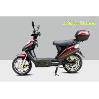 China Red 16 Pedal Assisted Electric Scooter 500W 48V Hydraulic Disc Brakes power assisted bicycle Canadian standard on sale