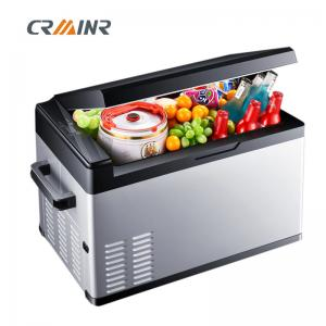 China CE Certified Electric Car Cooler Refrigerator 12V For Camping / Barbecue / Fishing on sale