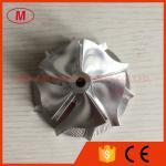 Revés 60.50/78.00m m de TD05H billete del turbocompresor de 5+5 cuchillas/rueda de aluminio del compresor 2024/milling