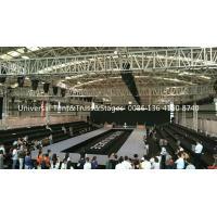 Aluminum Frame Stage Lighting Truss Structure / Event Spigot Bolt Exhibition Truss