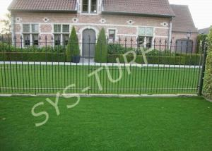 China Soft Decoration Synthetic Artificial Turf , Eco Friendly Artificial Grass on sale