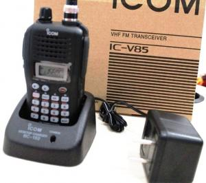 China IC-V85 VHF FM Transceiver compact 7 watt Power ICOM radio on sale