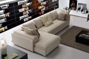 Quality Modular Corner Sofa Arabic Gray Modern Fabric Sofas Living Room For