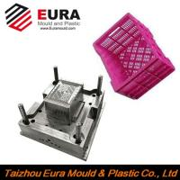China EURA Zhejiang Taizhou plastic fruit crate injection mold making on sale