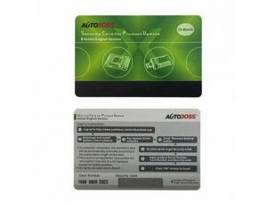 China Good quality Original Autoboss V30/V30 Elite Security Update Card for One Year Online Update Global Version on sale