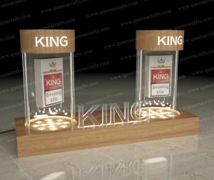 China CD (40) Clear Acrylic Tobacco Holder on sale