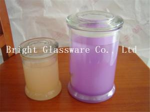 China wholesale Glass Candle Jars and Containers with cheap price on sale