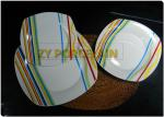 Food Contained Safe Square Dinnerware Sets Comply With International Standard Durable