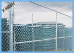 5 Ft Metallic Coatings Hot Dipped Galvanized Chain Link Fence Fabrics For Rural SGS Listed
