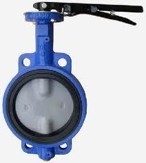 China TOZEN BFV-D double flanged type butterfly valve on sale