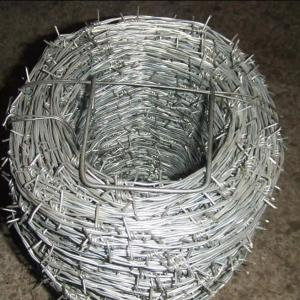China PVC Coated  Roll Barbed Wire In Roll For Industry,Agriculture on sale