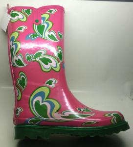 China women's colorful rain boots on sale