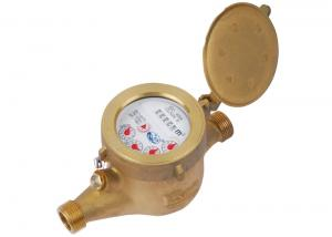 Quality Dry Dial Type Multi Jet Water Meter Brass 5 digits For Household for sale