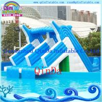 Giant lake inflatable water slide for sale inflatable pool slides for inground pools