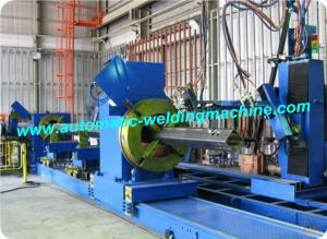 China CNC Pipe Fine Plasma Cutting Machine , Large Pipe Cutting Machine on sale