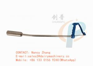 China Dairy cow balling gun for magnet , stainless steel bolus gun with pressing handle on sale