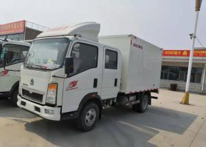China Diesel Cargo Light Duty Commercial Trucks , Light Duty Box Trucks 20 Cbm on sale