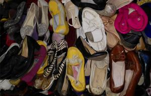 China Summer & Spring Used Women's Shoes Export from China to Africa , Used Woman Shoes on sale