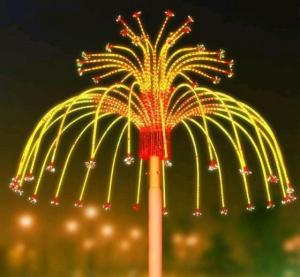 China New flower style firework sale LED firework lights from Chinese supplier on sale