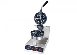 China Rotation-Type Digital Electric Waffle Maker With Thick Iron Teflon Non-Stick Heat Plate on sale