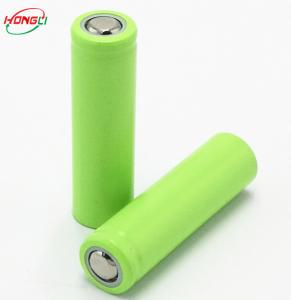 China 500mah 3.7 V 14500 Rechargeable Battery / Lithium Ion Battery For Small Torch on sale