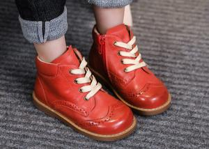 China Girls Leather Boots Boys Shoes Children Boots Fashion Toddler Kids Boots Warm Winter on sale