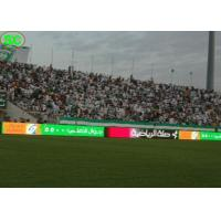 High Definition Led Scoreboard Display , Sport Football Stadium Screen High Refresh Rate