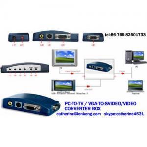 China External vga to cvbs/vga to svideo/pc to tv converter on sale